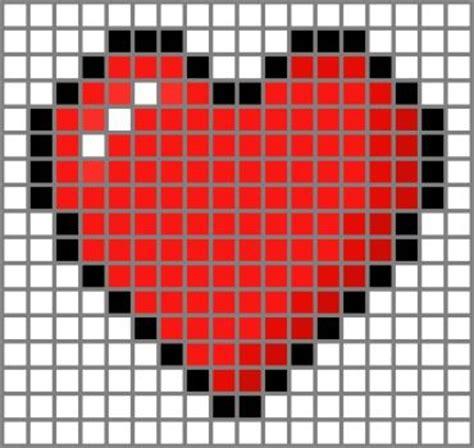 heart pattern on graph paper pixelartgrid explore pixelartgrid on deviantart