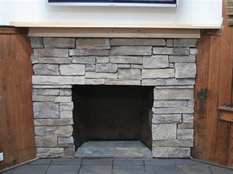 covering fireplace how to cover a brick fireplace with stone hgtv