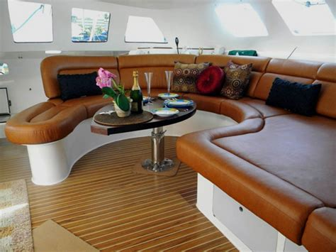 Boat Interior Fabric by Marine Upholstery