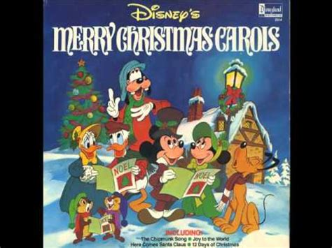 larry groce mickey friends  twelve days  christmas youtube