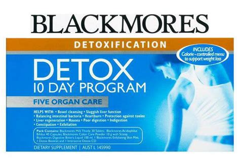 And Detox Programs In by Blackmores Detox Program Reviews Productreview Au