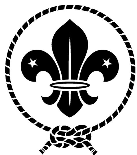 Scout Logo Outline by Scout Logo Clipart