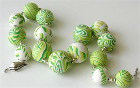 Find Home Decor Polymer Clay Necklace 4