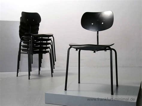 Eiermann Stuhl 47 by Sold Egon Eiermann Se68 Wilde Spieth Schwarz Vintage