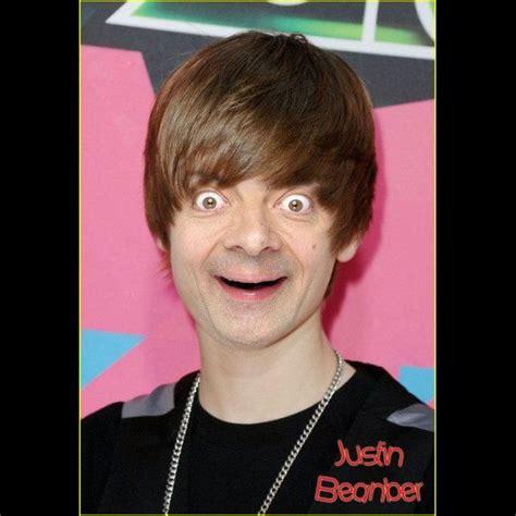Justin Birber Meme - mr bean parodies on pinterest mr bean beans and thor meme