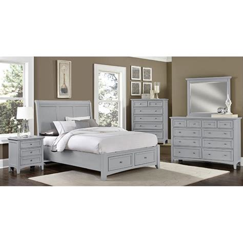 gray bedroom furniture bb26 002 vaughan bassett furniture triple dresser grey