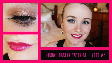 tutorial makeup graduation high school graduation formal makeup tutorial look 3