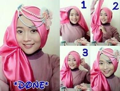 tutorial hijab anak untuk kebaya kumpulan gambar tutorial hijab pashmina satin untuk pesta