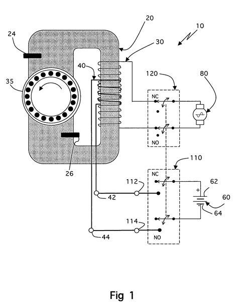 induction generator wiring diagram k