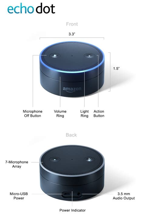 echo dot 2nd generation alexa enabled bluetooth speaker black amazon echo dot and amazon tap two new smaller and