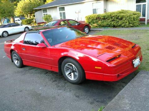 how to learn about cars 1989 pontiac firebird interior lighting 1989 pontiac firebird information and photos momentcar