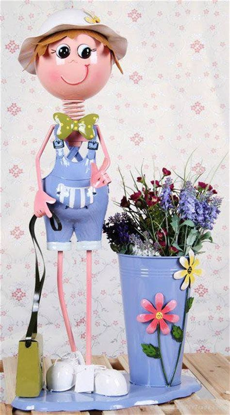 Garden Decoration Products by Metal Garden Decoration Flower Pot 004 Nx China