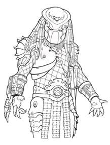 predator coloring pages to and print for free