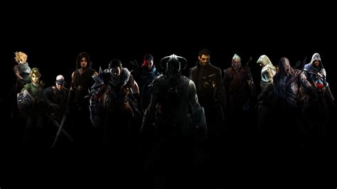 wallpaper of video games collage full hd wallpaper and background image 1920x1080