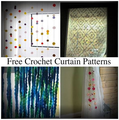 free curtain patterns crochet curtain patterns creatys for