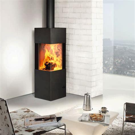 contemporary wood burning fireplace austroflamm slim 2 0 multifuel stove living room