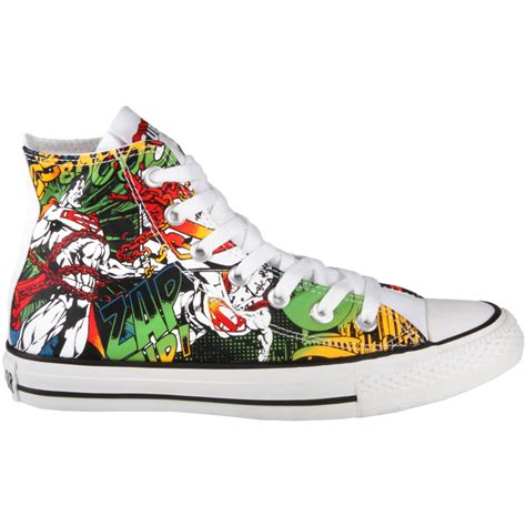 Superman Canvas Shoes converse chuck dc comic superman free shipping