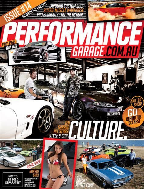 zen on the cover of performance garage magazine