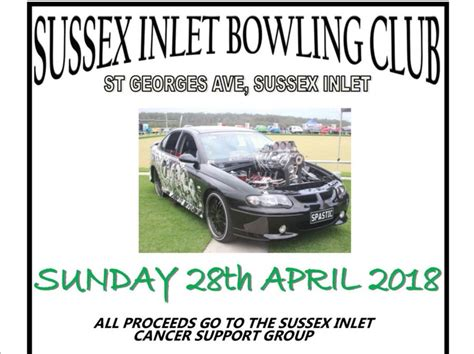 sussex inlet bowlo show  shine shannons club