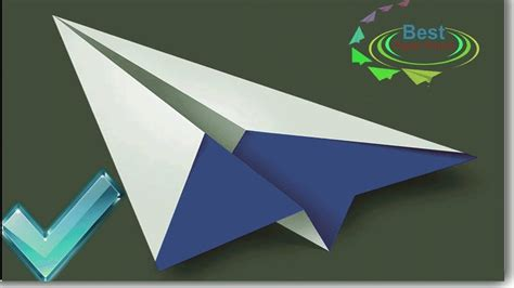 How To Make A 3d Paper Airplane - how to make a paper airplane suzanne 2012 world record