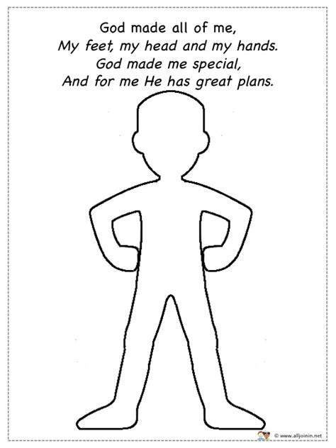 Free Coloring Pages Of Action Verbs God Made Me Special Coloring Pages