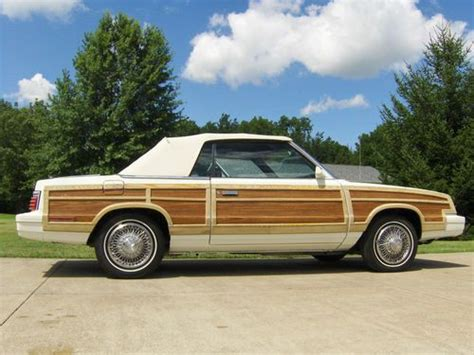 1984 Chrysler Lebaron by 1984 Chrysler Lebaron Woody Convertible