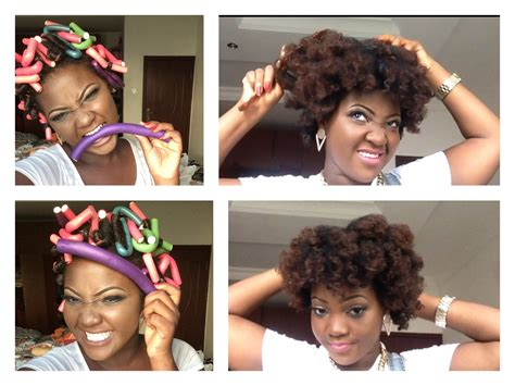 curling puddingusing rods how i use flexi rods bendy rollers on my natural hair
