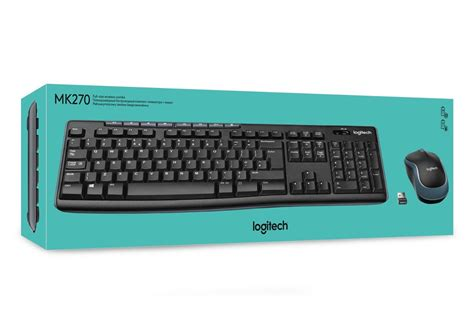 Keyboard Wireless Logitech Mk270 logitech mk270 wireless keyboard and mouse combo for windows qwerty uk layout 163 14 99