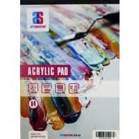 Mont Marte Canvas Pad 10 Sheet A5 Hi Store mont marte canvas pad a3 280gsm 10 sheets
