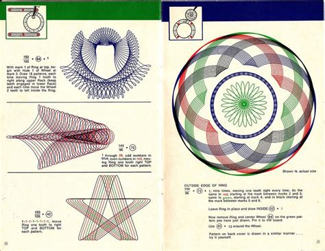 spirograph string 28 images 94 best spirographe images
