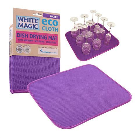 Dish Mat - dish drying mat white magic