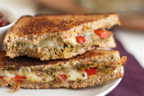 Link Mozzarella And Pesto Grilled Cheese by 10 Uses For Basil Pesto Cookie And Kate