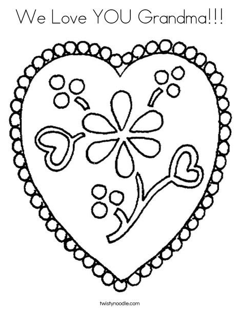 i love you great grandma coloring pages we love you grandma coloring page twisty noodle