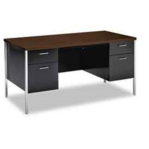steel metal desks at globalindustrial