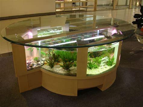 Twin Half Circle Table Aquarium Image : Photos, Pictures