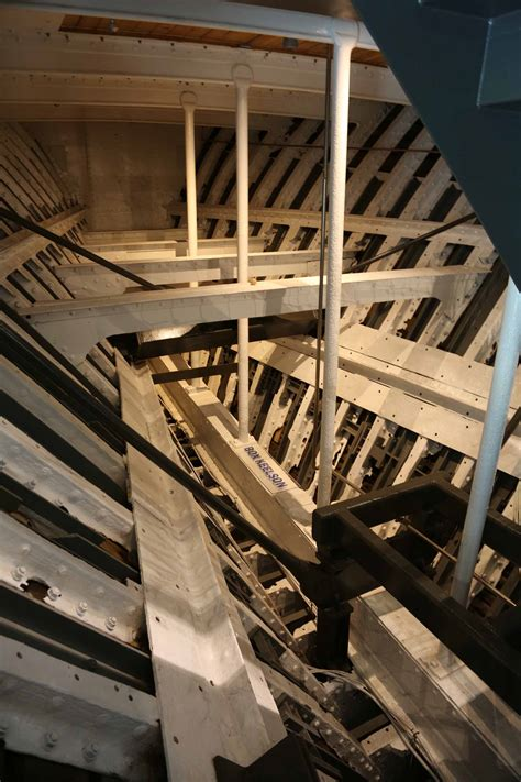 photos of cutty sark in greenwich structures below main deck