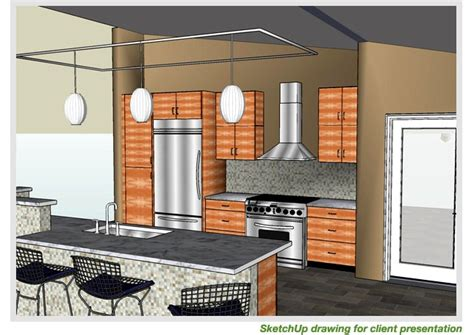 design kitchen google sketchup go 2 school google sketchup and google earth blog posts