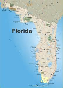 where is florida on a map florida road map