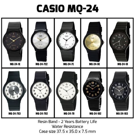 Casio Mq 24 1 ready stock casio mq 24 mq24 mq 24 1e 1b 1b2 1b3 7e 7e2