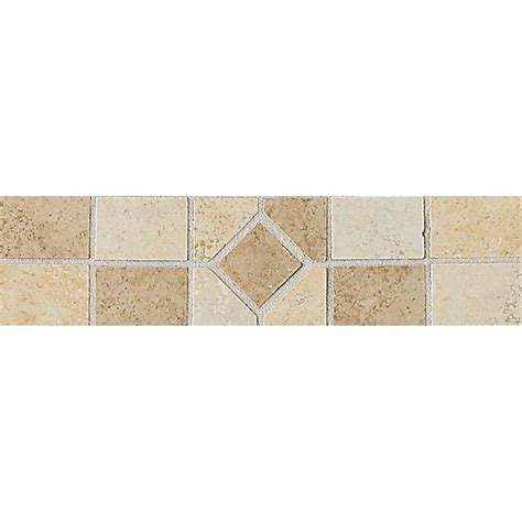 Home Depot Decorative Tile | daltile brixton universal 3 in x 12 in ceramic
