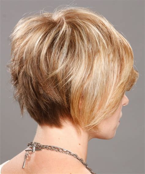 back view images of short hair styles on older woman back view of short hairstyles for women