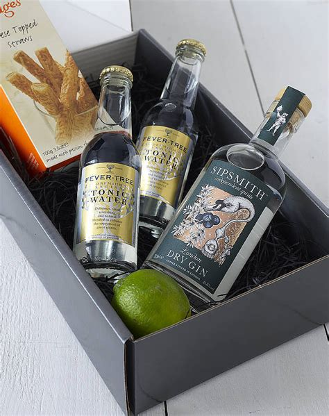 the ultimate gin and tonic kit gift by whisk hers