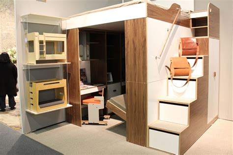 tiny house furniture fridays 22 staircase storage beds see inside nyc s first micro apartment building