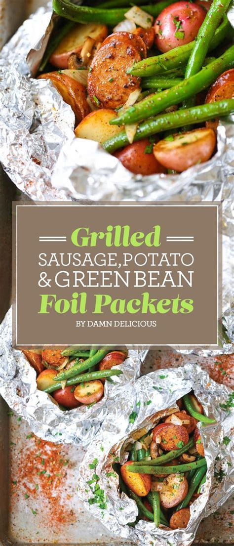Favorite Summer Side Grilled Potato Packets by 25 Best Easy Grill Recipes Ideas On Grilling