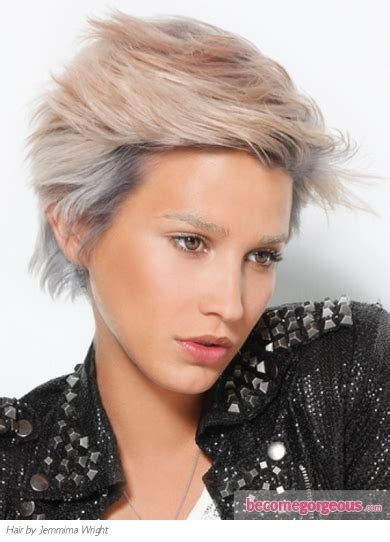 become gorgeous short hair gallery pictures pictures short hairstyles gorgeous short razored haircut
