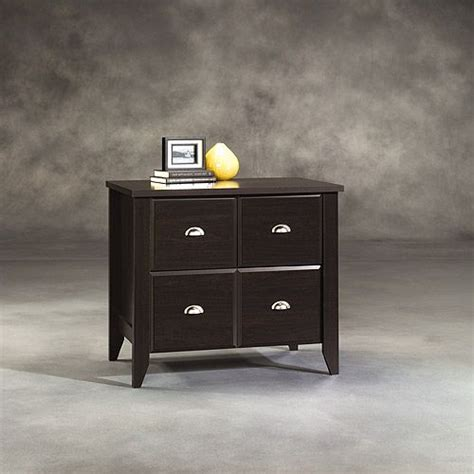 Sauder Shoal Creek File Cabinet by Sauder Shoal Creek 2 Drawer Lateral File Cabinet Jamocha