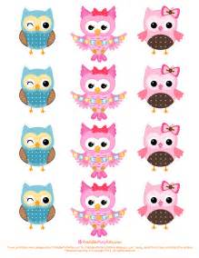 free printable invitations free owl cupcake toppers
