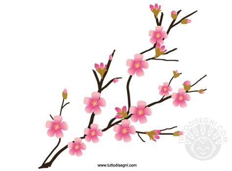fiori di pesco disegno ramo di pesco fiorito tuttodisegni
