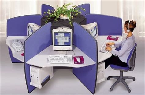 bureau partag bureau partage forme rosace pour call center
