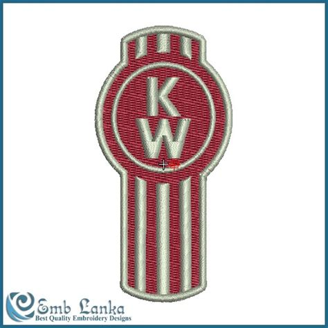 kenworth logo kenworth truck logo embroidery design emblanka com